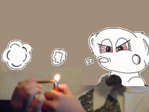 marijuana cigar